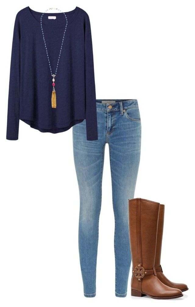 """""""fall outfit"""" by sassy-and-southern ❤ liked on Polyvore featuring Burb"""