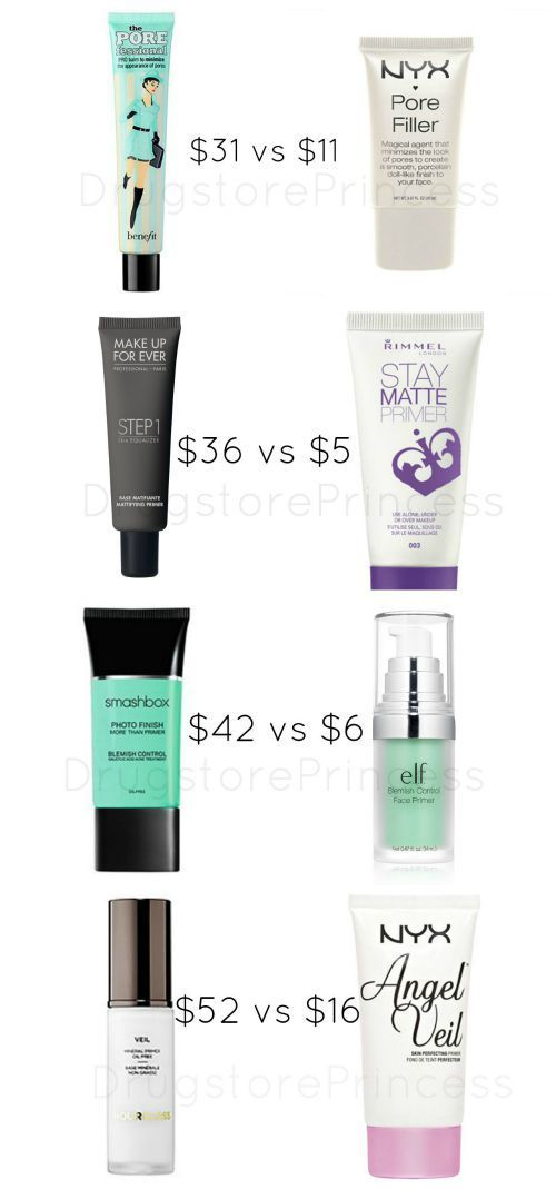 Face Primer Dupes for Your Skin! Not all face primers are created equal, but some