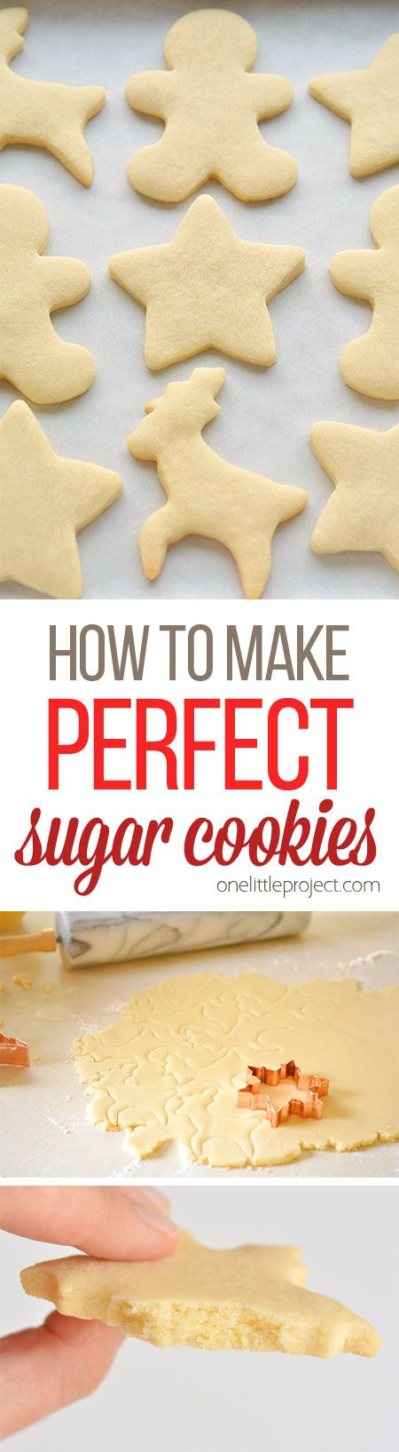 This recipe makes PERFECT sugar cookies! Theyre delicious both with and witho