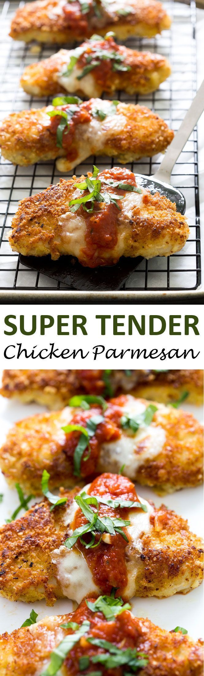 The BEST Chicken Parmesan. A quick and easy 30 minute weeknight meal everyone will