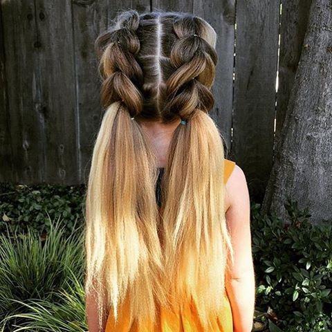 Credit: @Abella's Braids  Such beautiful hair