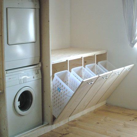 Une idée astucieuse pour la #buanderie ! www.m-habitat.fr/…
