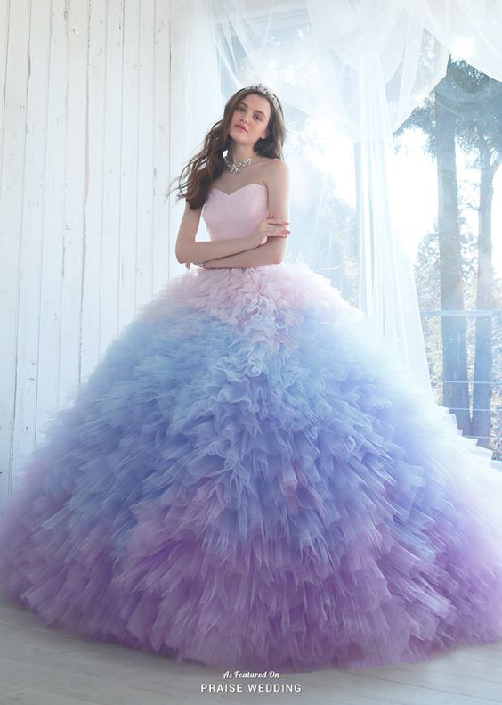 Nowadays, everyone is talking about ombre-colored quinceanera gowns, which can hav