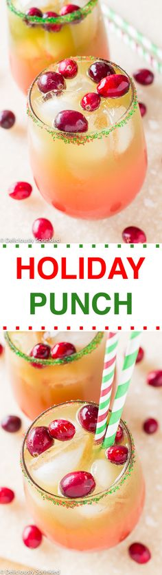 A delicious and easy to make Holiday Punch Recipe! It was a HUGE HIT at our Christ