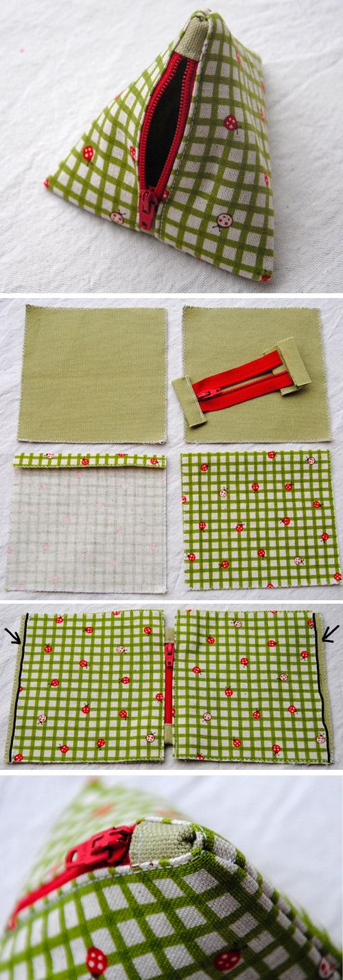 Pyramid Bag Sew Tutorial   www.free-tutorial…