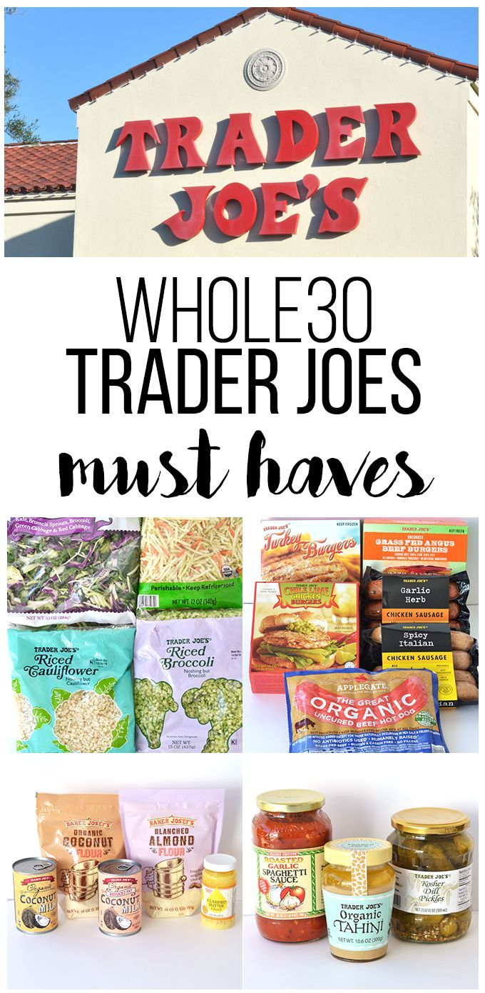 Whole30 Trader Joes Must Haves – The ultimate shopping list for Whole30 success!