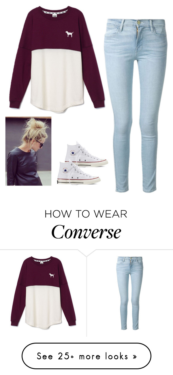 """Untitled #83"" by jacqueline66 on Polyvore featuring moda, Frame Denim, Victoria's"