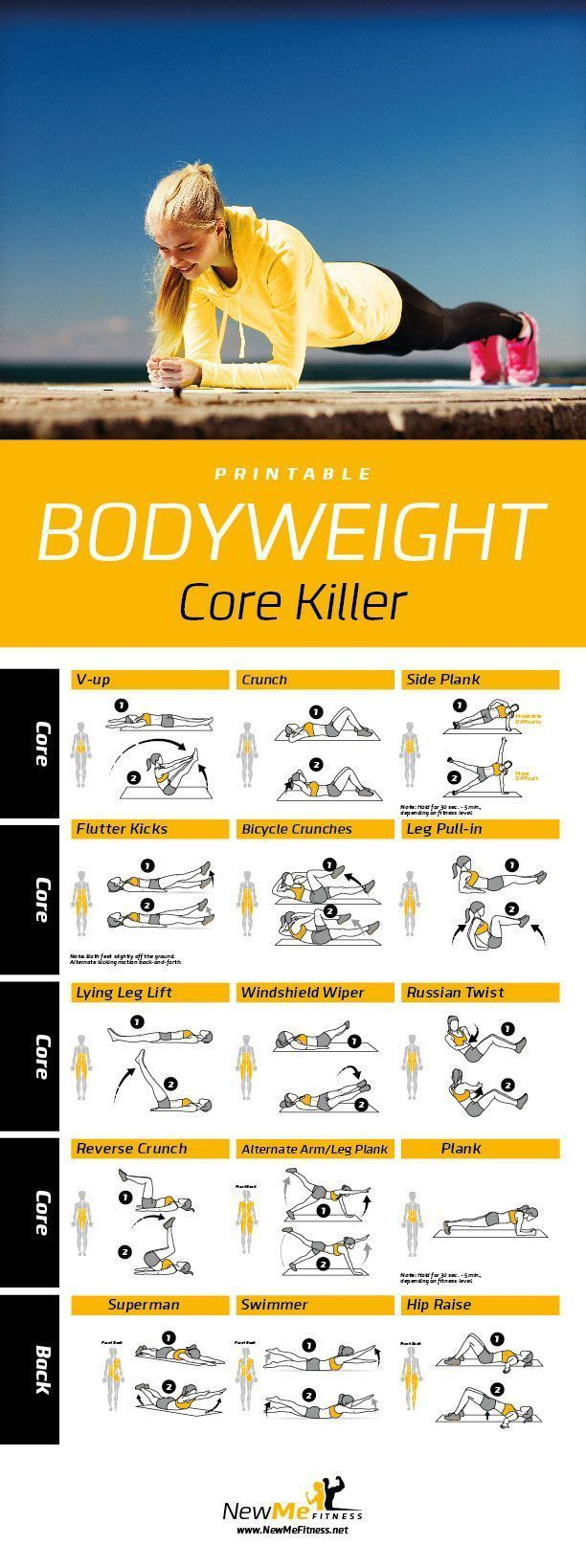 Bodyweight Core Killer