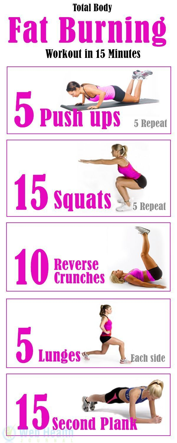 Total Body Fat Burning Workout in 15 Minutes. May look easy, but man, its a g