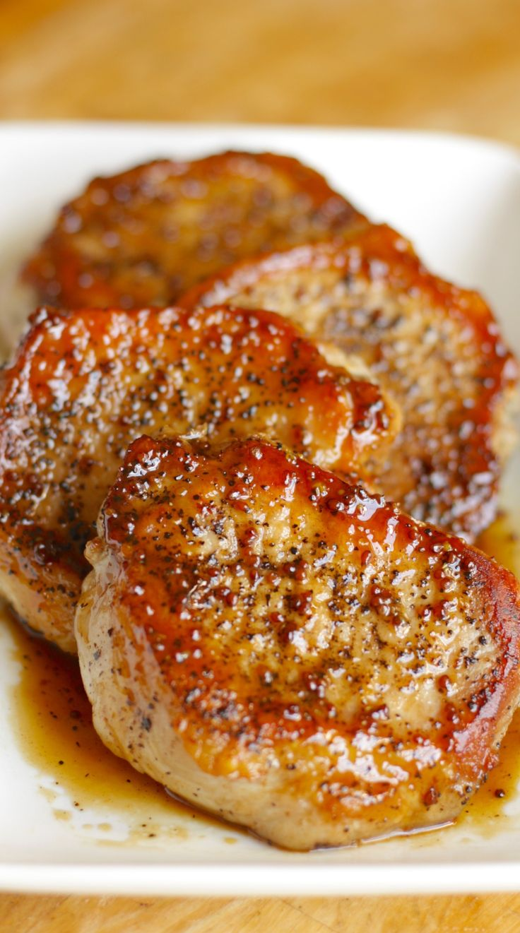 Apple Cider Pork Chops: These tasty apple cider pork chops are a five-ingredient main course that'll be on your table in just 30