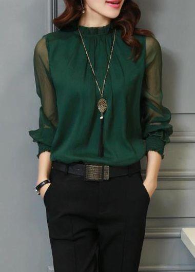 Stitch fix style I love this dark green color!