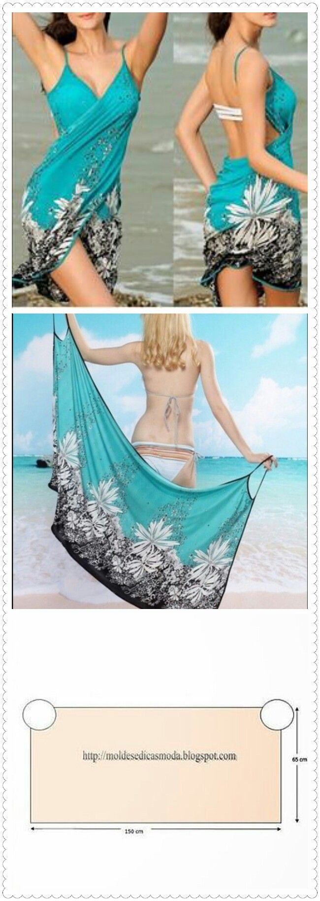 Women's Summer Bikini Swimwear Cover Up Beach Dress