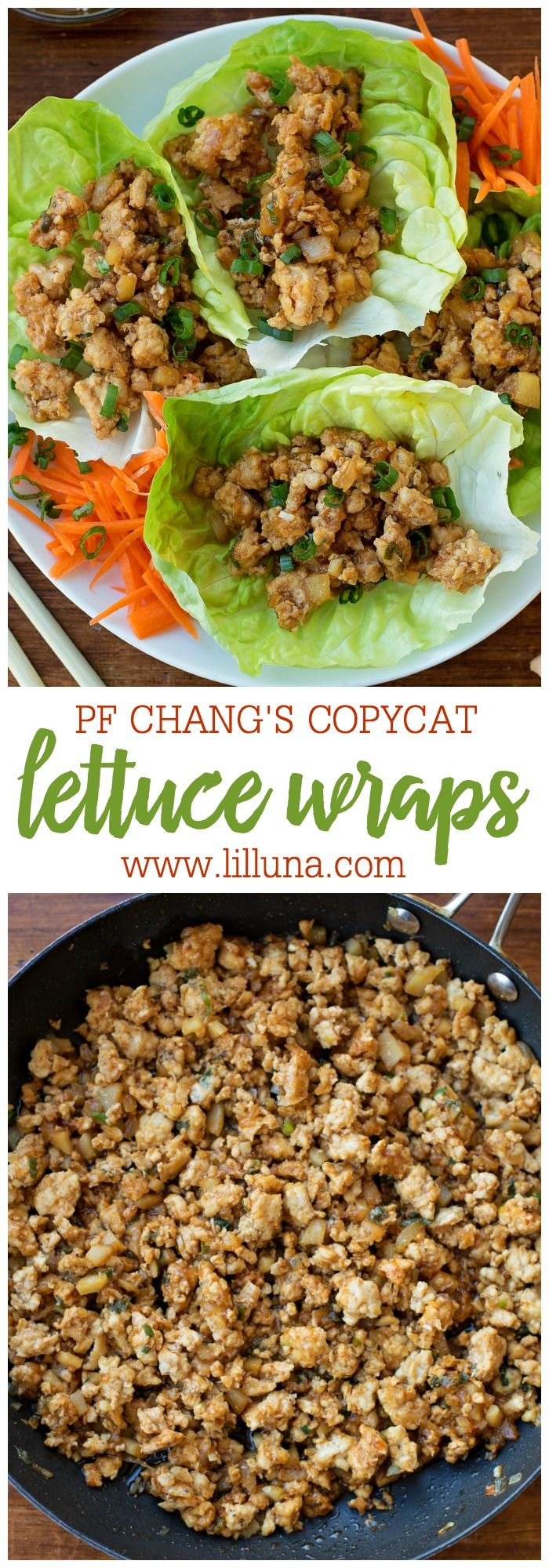 This PF Changs Chicken Lettuce Wraps recipe is a copycat of a restaurant favorite. It only takes a handful of ingredients and 20
