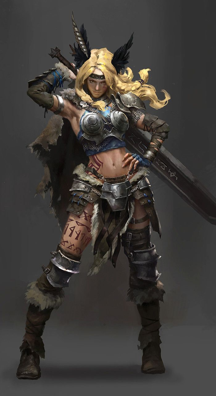 character_design_valkyrie, Lulu Zhang on ArtStation at www.artstation.co…