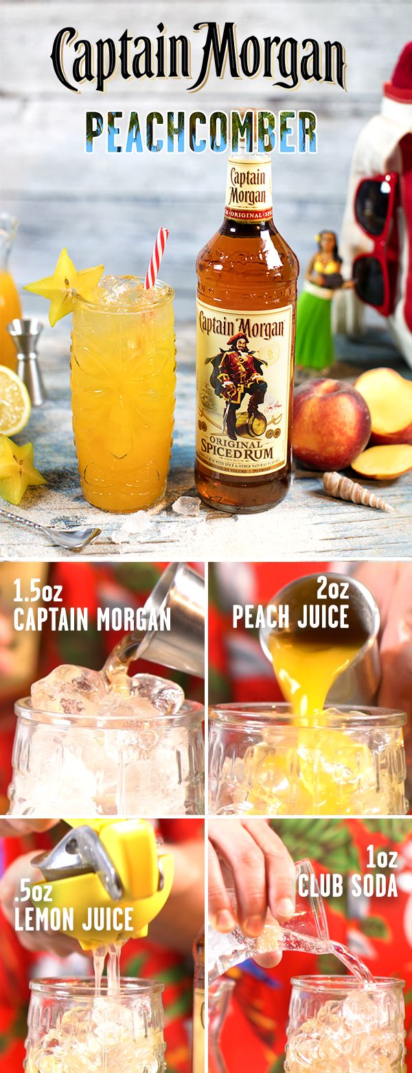 Preparing for vacation? Dont forget to bring along the spiced rum staple born and bred to party hard–Captain Morgan. To mix up a