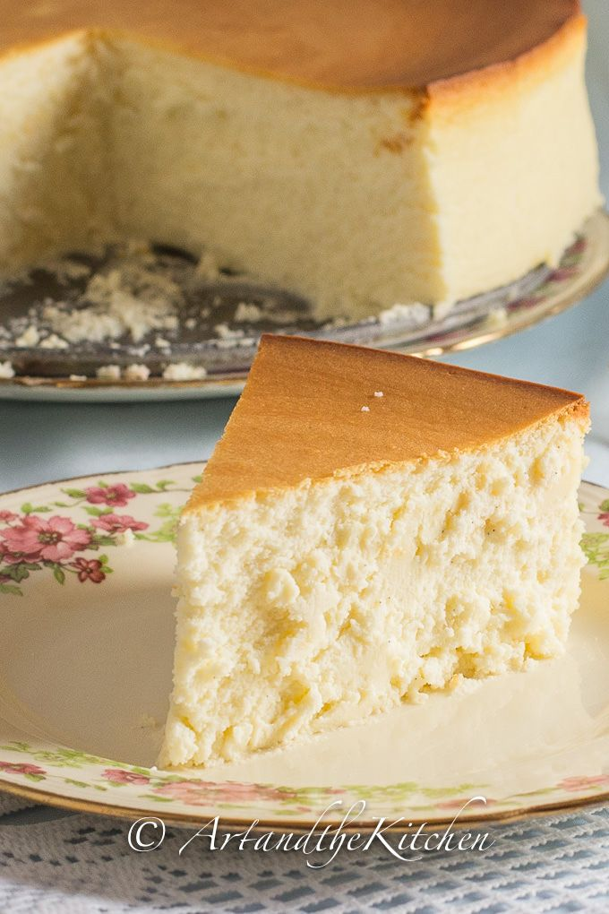 Tall and Creamy New York Cheesecake – Now THIS is what cheesecake should be!