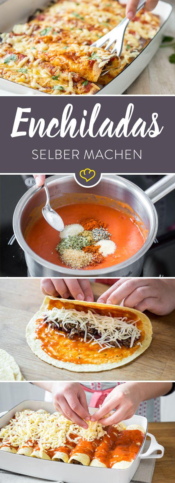 Enchiladas – was sind das eigentlich für Rollen und wo kommen sie her? Was gefüllte Tortillas zu echten Enchiladas macht,
