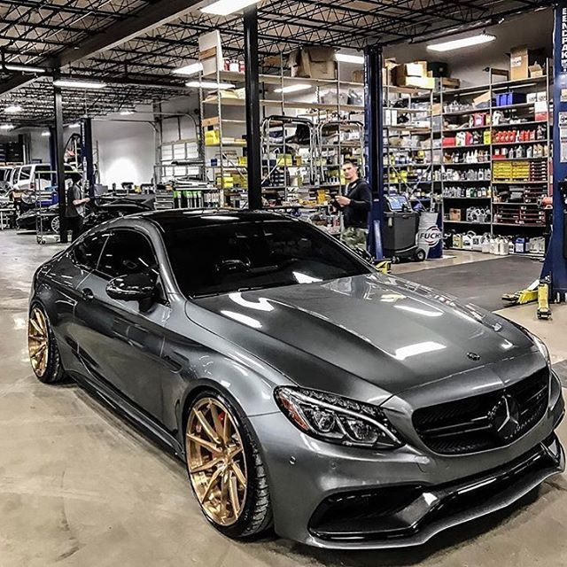 "C63 AMG ""Normally Im not a big Mercedes fan BUT, in this case I must admit exception. SWEET WHEELS!! NIIICE!!"
