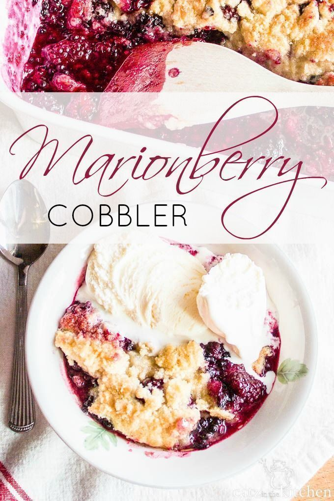 Such a fabulous dessert! Its hard to beat a good cobbler–especially in the summertime! And this recipe is so adaptable, any berry