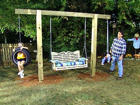 How to Hang a Tire Swing From a Tree   how-tos   DIY