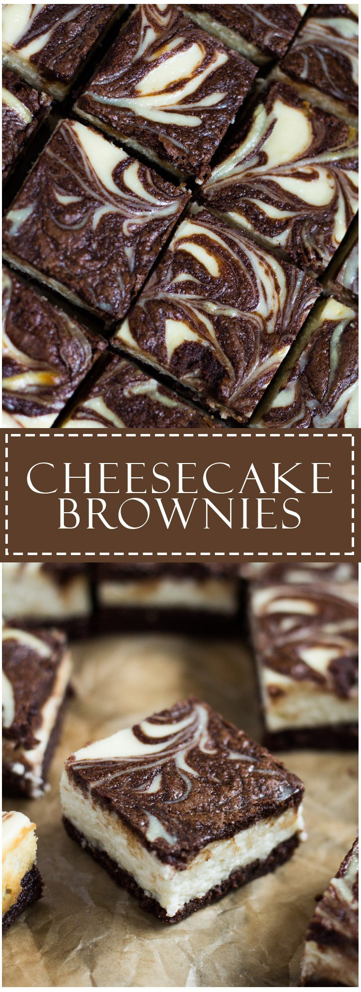 Cheesecake Brownies | Marshas Baking Addiction