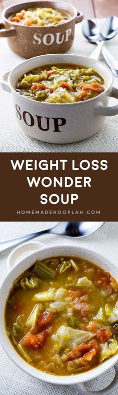 Weight Loss Wonder Soup! A filling and healthy wonder soup to assist with any diet. Vegetarian, gluten free, vegan, paleo – this