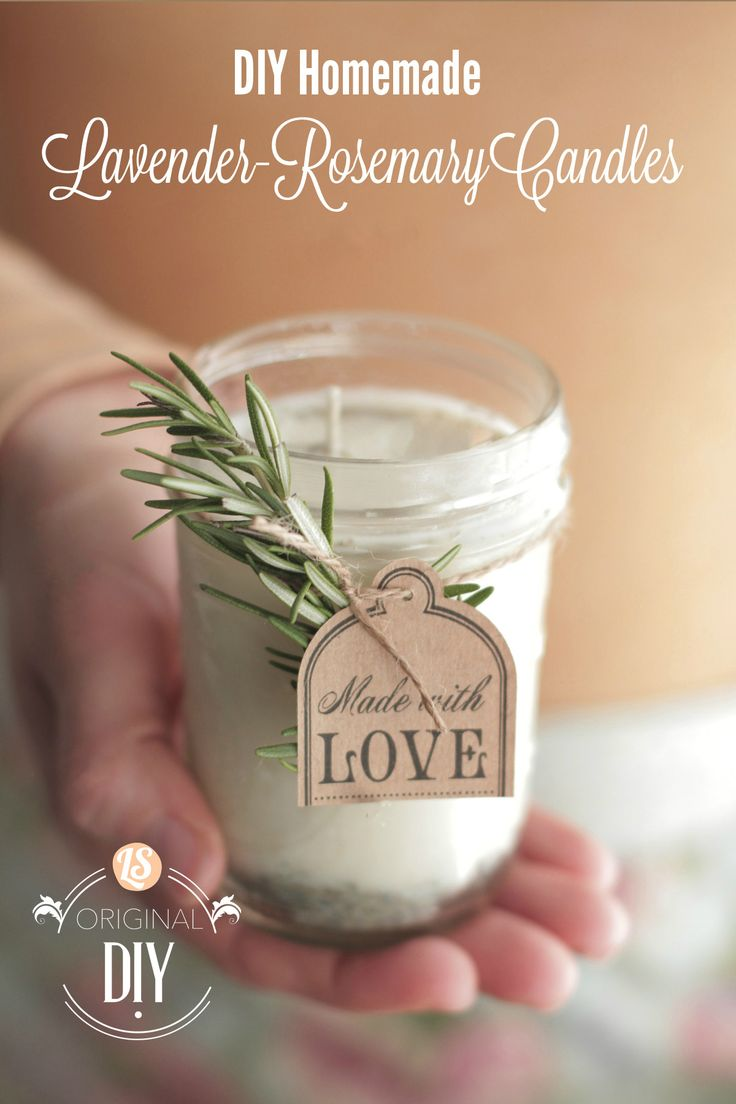 How to make homemade DIY candles. A gift that family and friends will love. And theyre easier than you think to make!