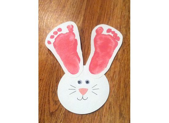 Cute idea for babys first Easter.