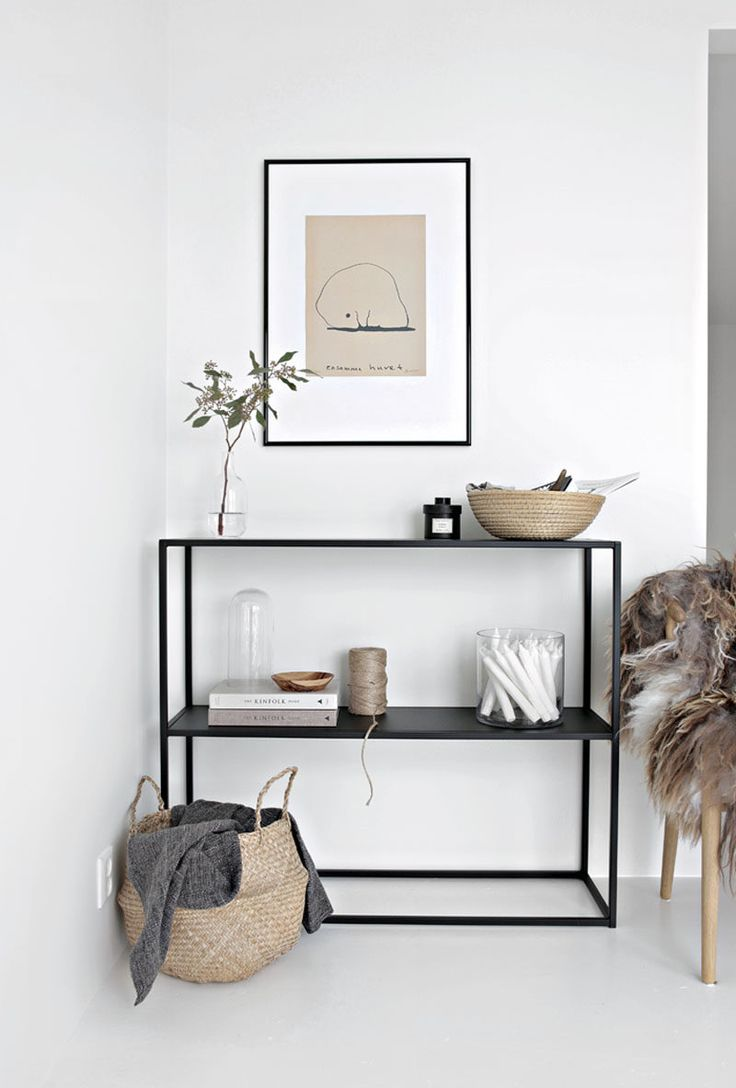10 Key Features Of Scandinavian Interior Design // Simple Accents — Decor is kept to minimum in Scandinavian design and bare