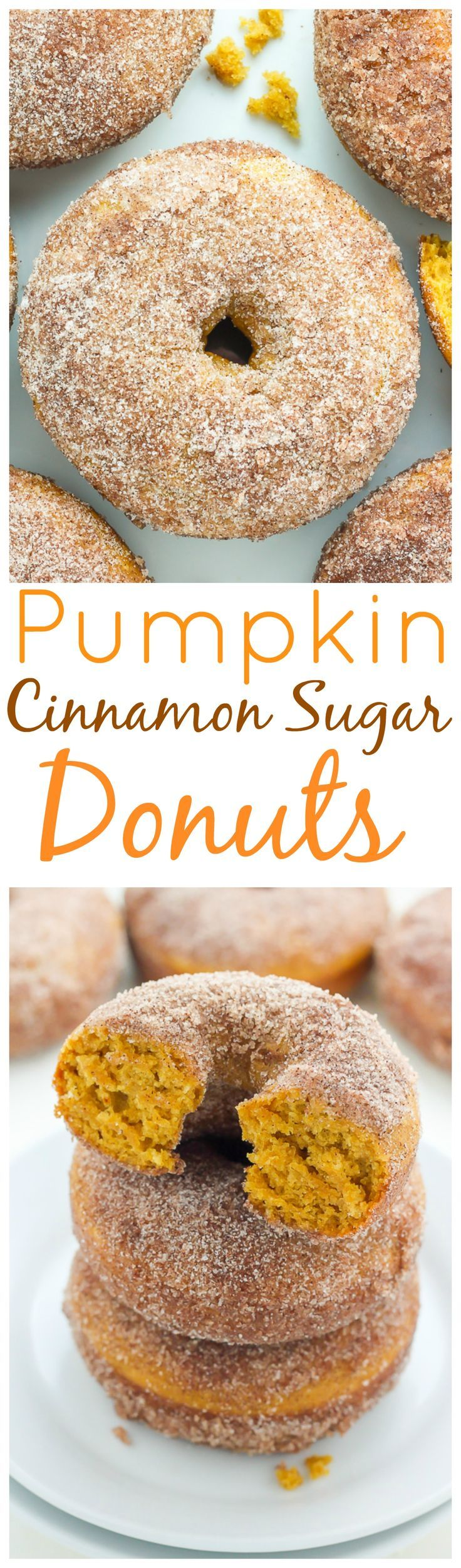 Pumpkin Cinnamon Sugar Donuts – super soft, fluffy, and loaded with pumpkin flavor! The best part? Theyre ready in 20 minutes!