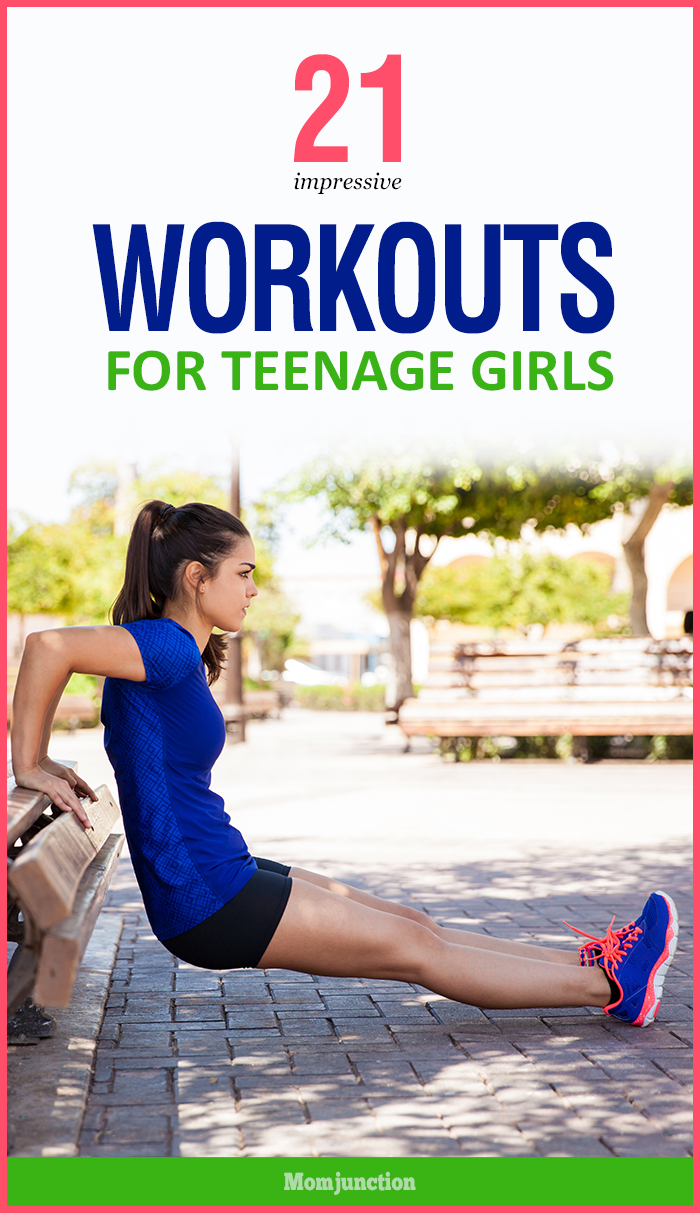 Working out is beneficial to teens. Here are some workouts for teenage girls help improve your exercise habits. Try these exercise