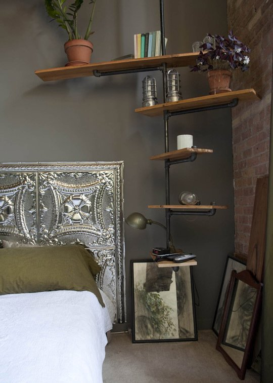 Tin ceilings originated here in the States in the late 1800s. Decorative metal plates were (and still are) an affordable way to
