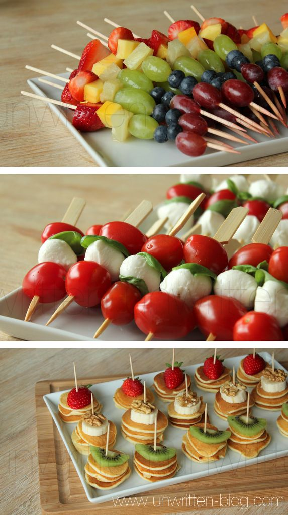 simple and beautiful finger food…little appetizers #appetizers