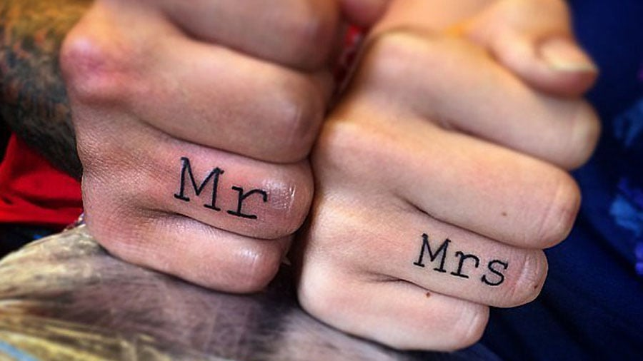 Make Your Love Permanent With One of These Couple's Tattoos: Want to make your mark on your lover forever?