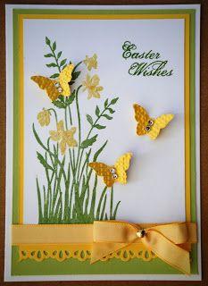 Kates Krafts: Beautiful Wings embosslit