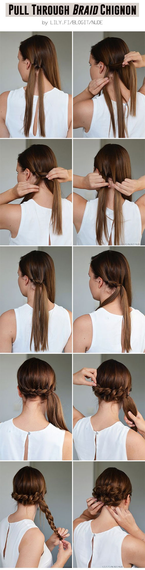 updos for girls with long hair — easy hairstyle tutorials for prom/wedding/etc!!