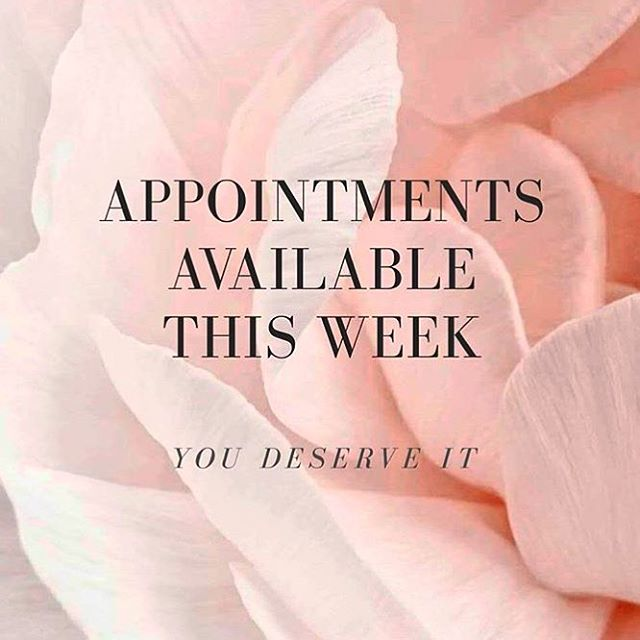 Pamper yourself this week!!  516.802.0474
