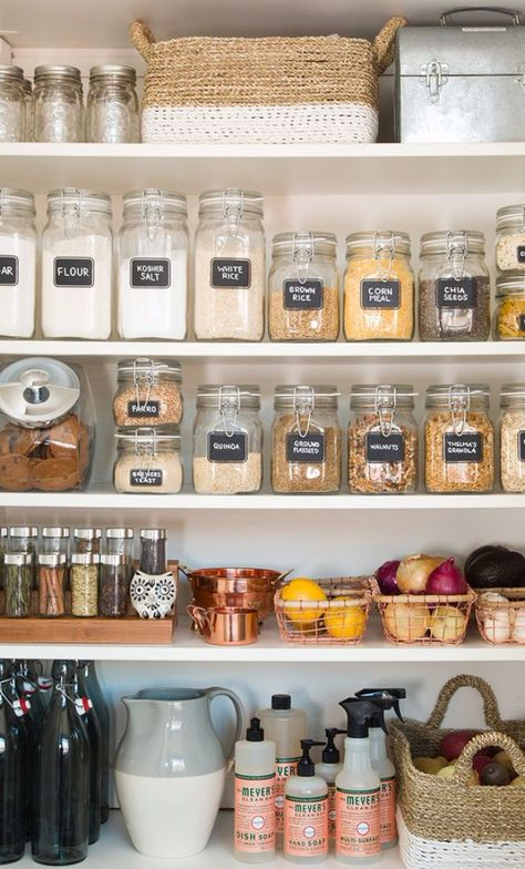 DIY Organizing Ideas for Kitchen – Pantry Organization For The New Year – Cheap and Easy Ways to Get Your Kitchen Organized –