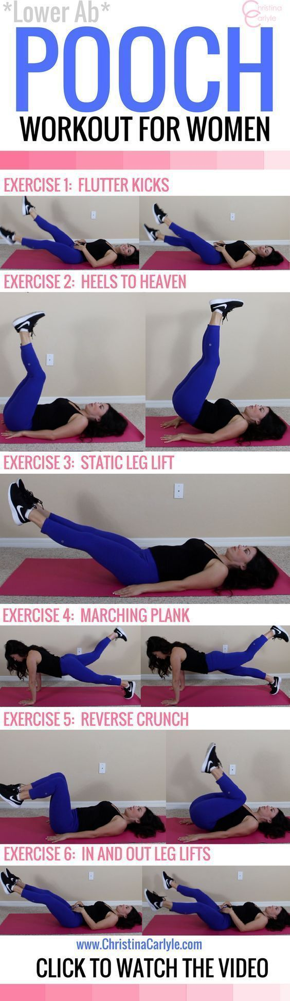 A STRONG core is ESSENTIAL for getting in shape and staying fit. This stability ball ab workout at home is PERFECT for burning