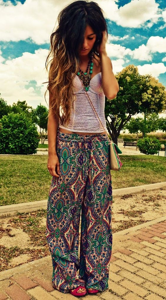 35 Adorable Bohemian Fashion Styles For Spring/Summer 2017 – Gravetics