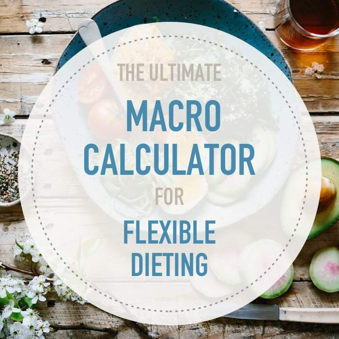 Calculate your macros with this mobile-friendly IIFYM calculator for Flexible Dieting. Lose weight or gain muscle. Adjust protein