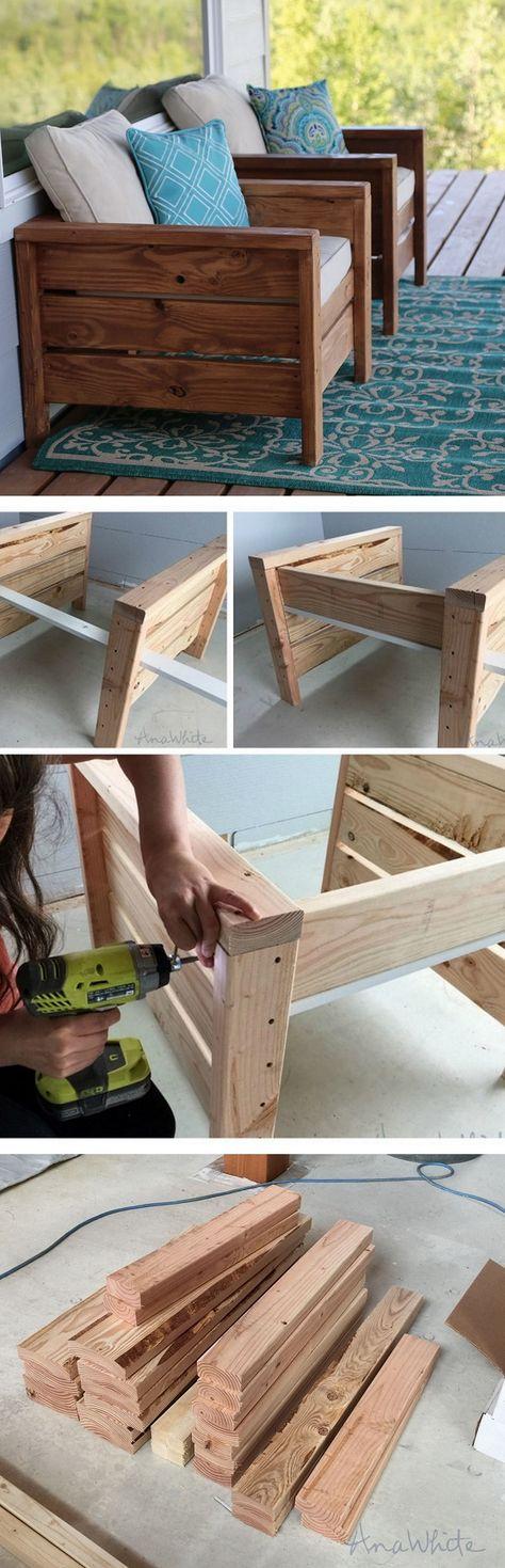 DIY Chairs Ideas
