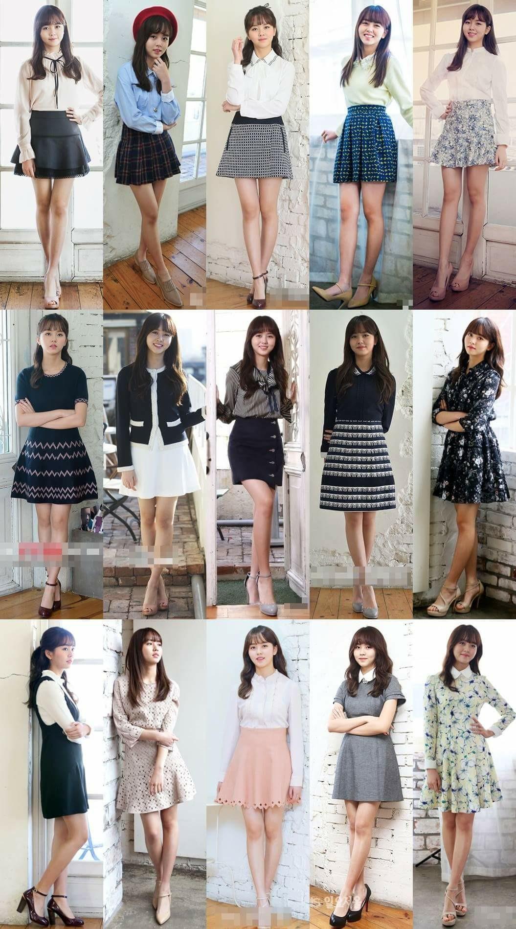 I really like Kim SoHyun's outfits