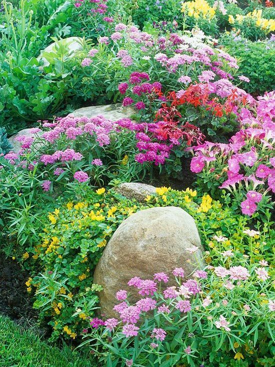 Create a garden that's big on color — but small on labor./