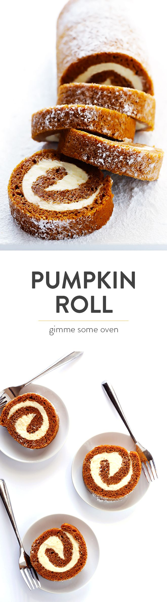 Learn how to make a classic pumpkin roll with this easy recipe and step-by-step tutorial (including a video!).  It's surprisingly