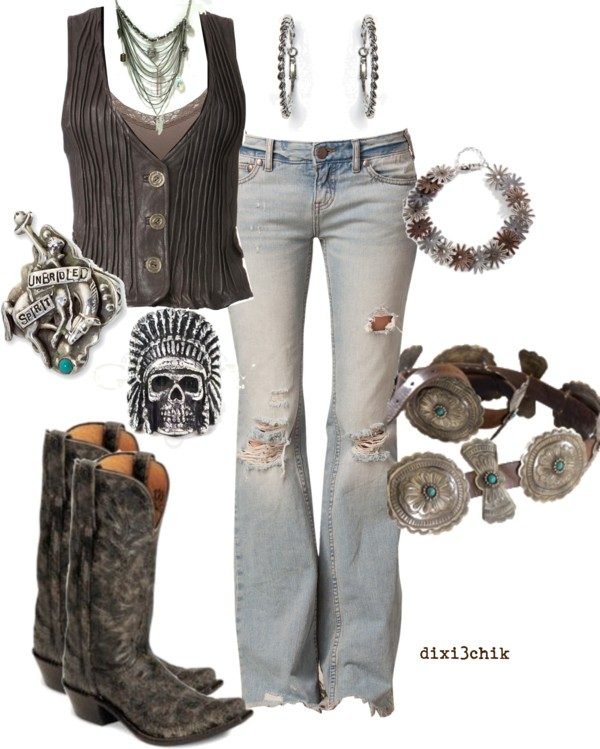 Perfect mix of punk, country, and boho