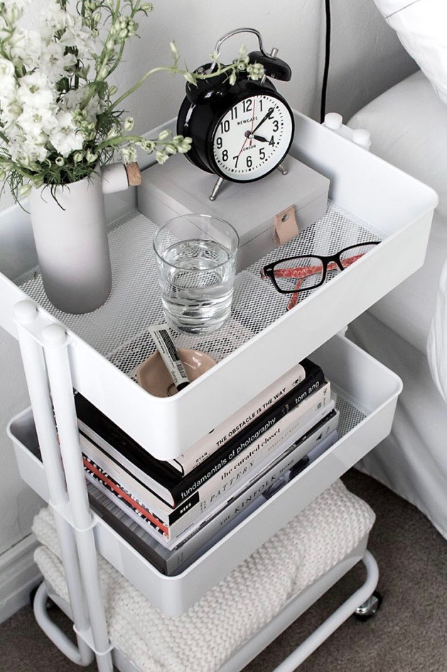 Bedroom Organization Idea