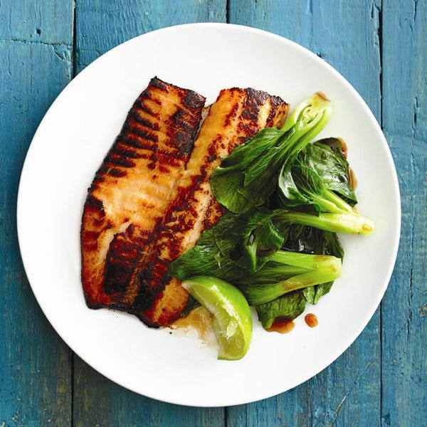 Honey-Glazed Tilapia. This is really yummy and super easy, I just made it tonight for dinner and my husband loved it! I served it
