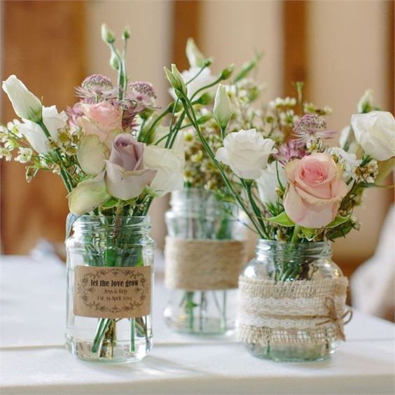 The Blossom Boutique was in charge of the floral décor at Greig and Jessica's wedding. When it came to picking the flowers,