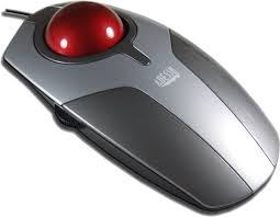 Trackball - कंप्यूटर के इनपुट डिवाइस (Input Devices)